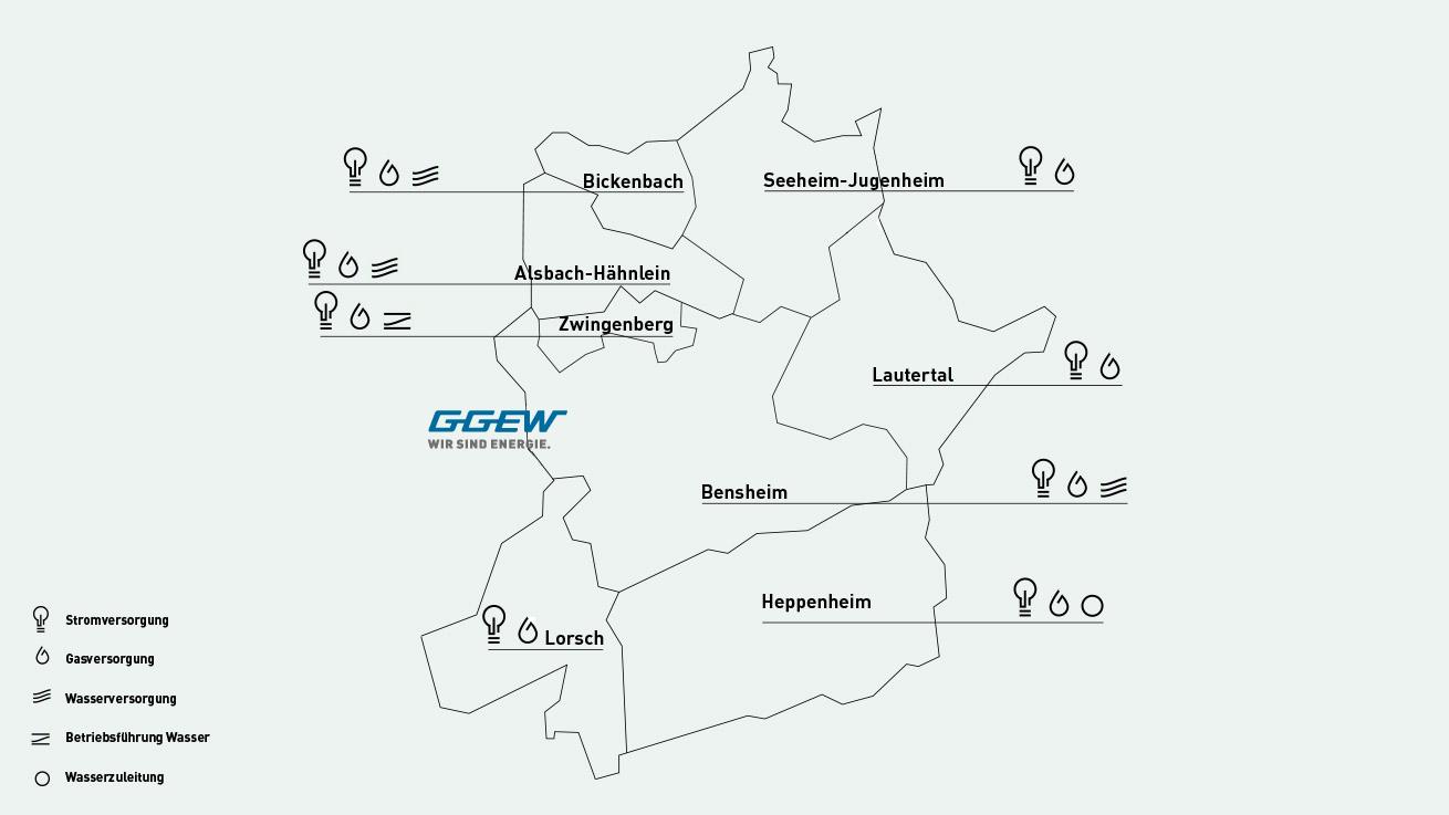 GGEW AG: Hausanschluss